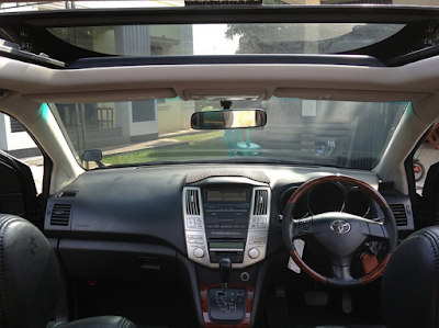 Interior Toyota Harrier Gen2 XU30