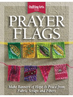 Prayer Flag Fiber Art