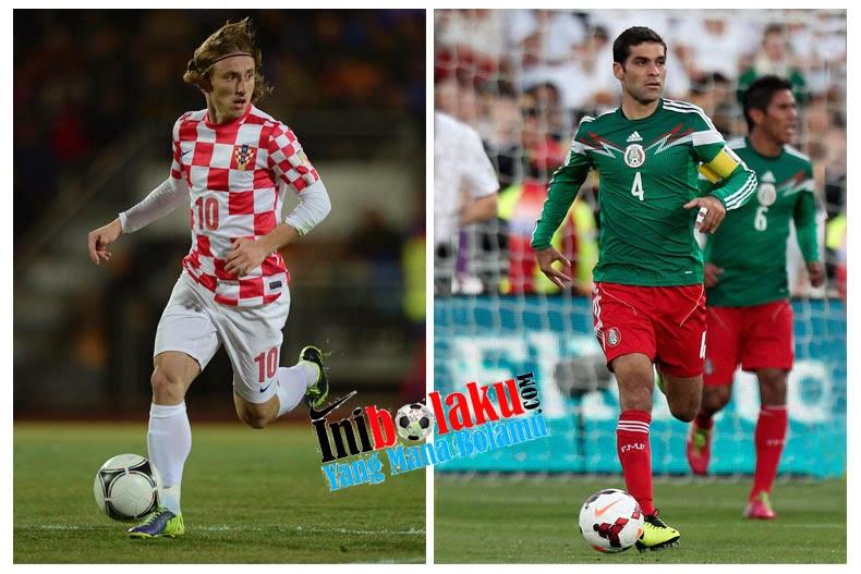 Kroasia Gagal Masuk 16 Besar Dengan Kekalahan Besar 3 – 1 Lawan Mexico