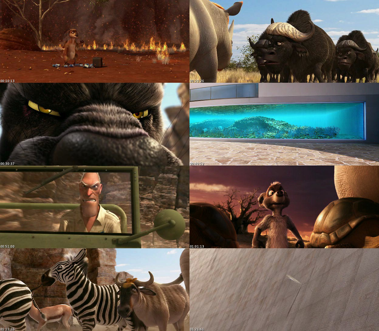 Animals United (2011) [DVDRip] [Latino]