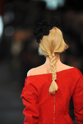 Fall/Winter 2011-2012 Hairstyle Trends-Lanvin