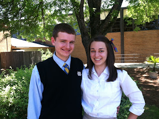Montgomery Catholic's Barranco and Petters will Attend HOBY Leadership Conference 1