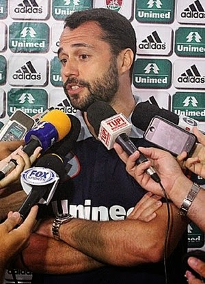 Presidente do Fluminense diz que sem a Unimed único atleta inegociável no clube é o advogado Marcio Bittencourt