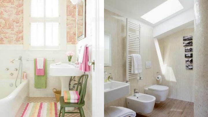 Marzua: cómo iluminar un baño pequeño