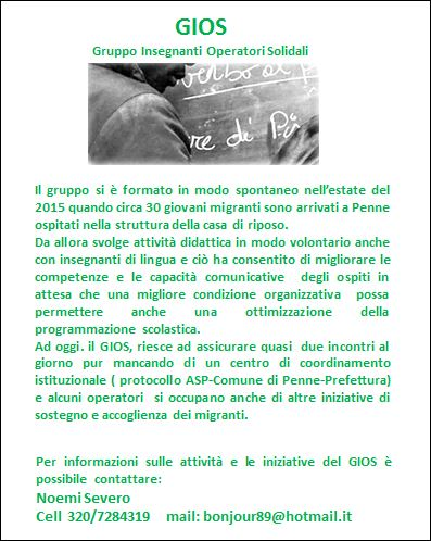 Manifesto Gios