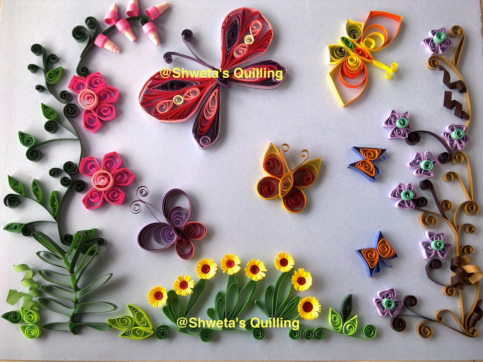 Shwetas Paper Quilling August 2012