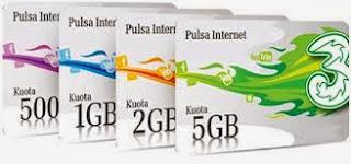 paket internet 3 always on