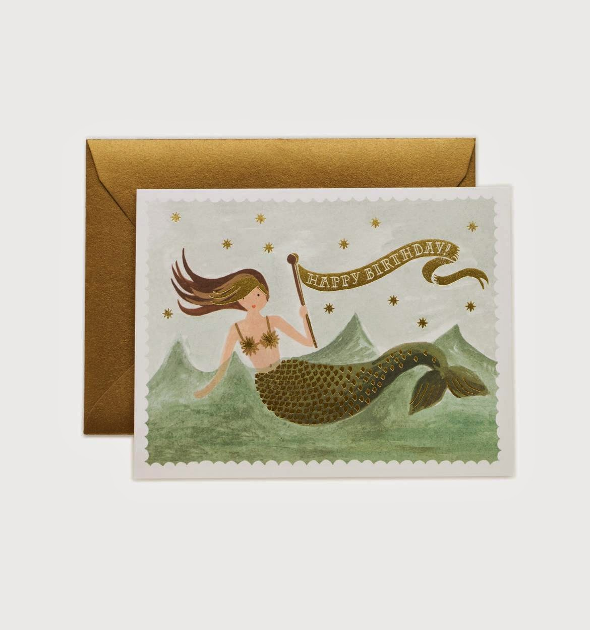 https://riflepaperco.com/shop/mermaid-birthday-greeting-card/