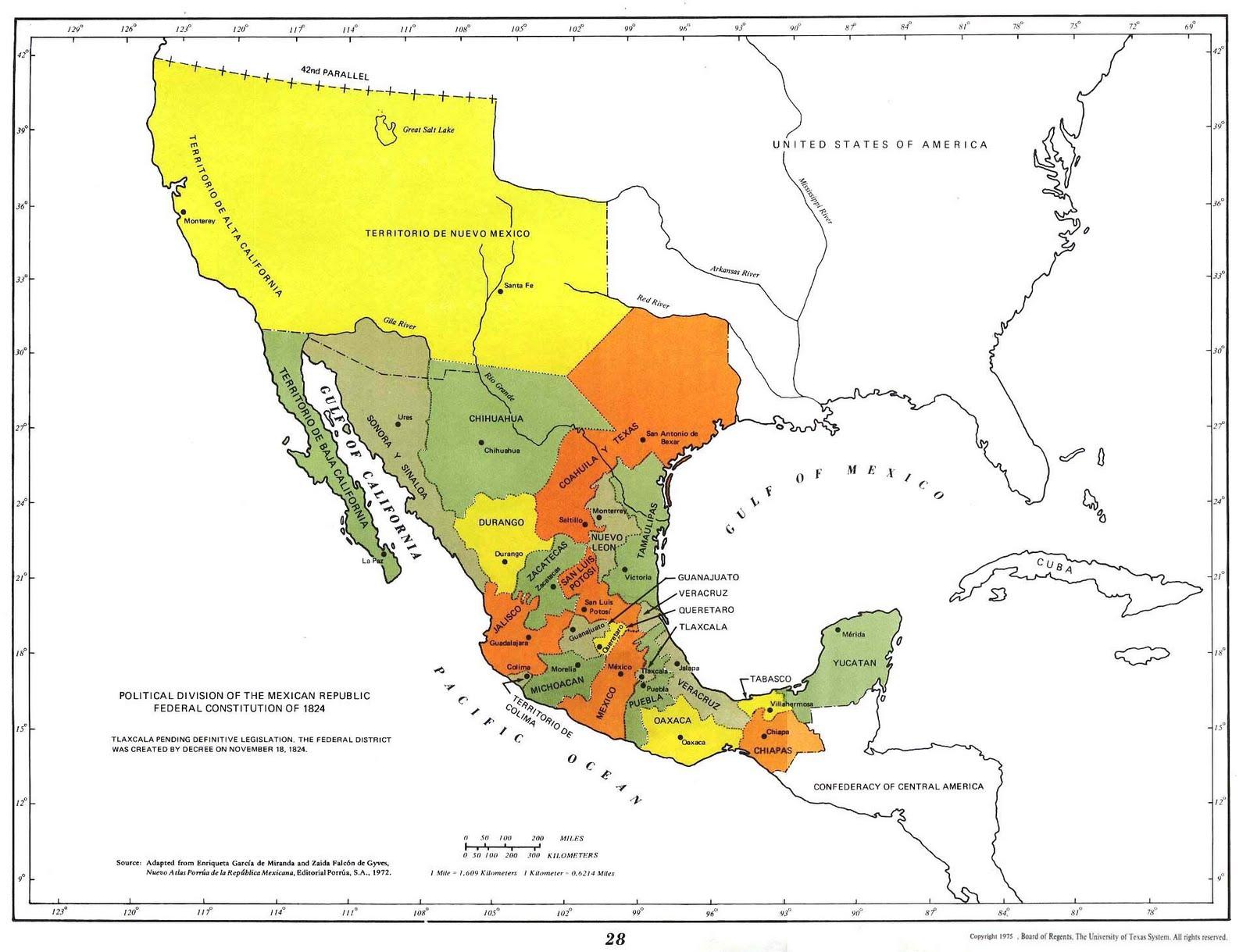 Pz C Mapa De Mexico