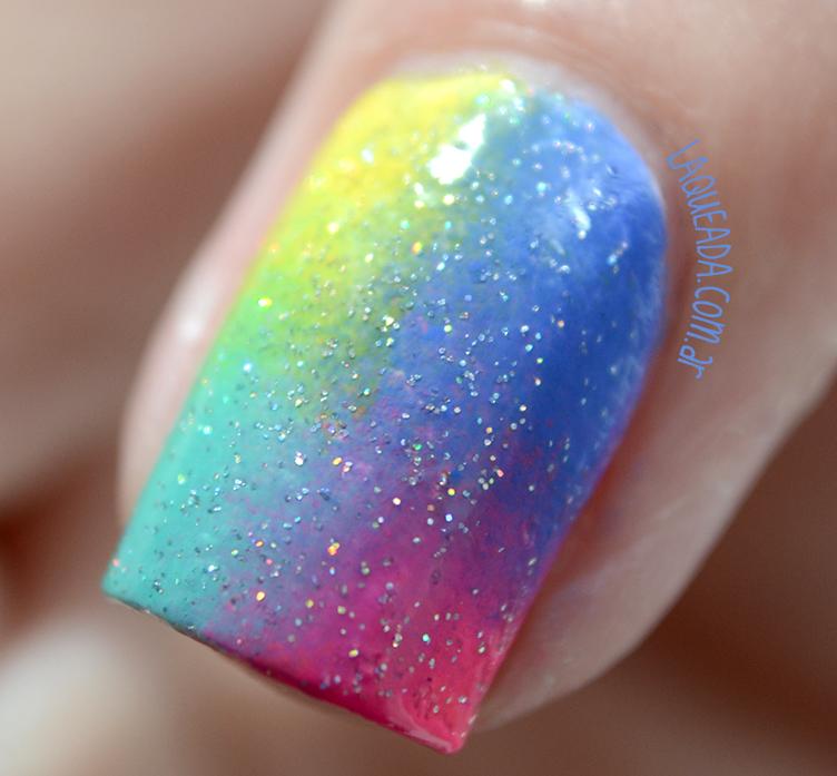 macro simple nail art