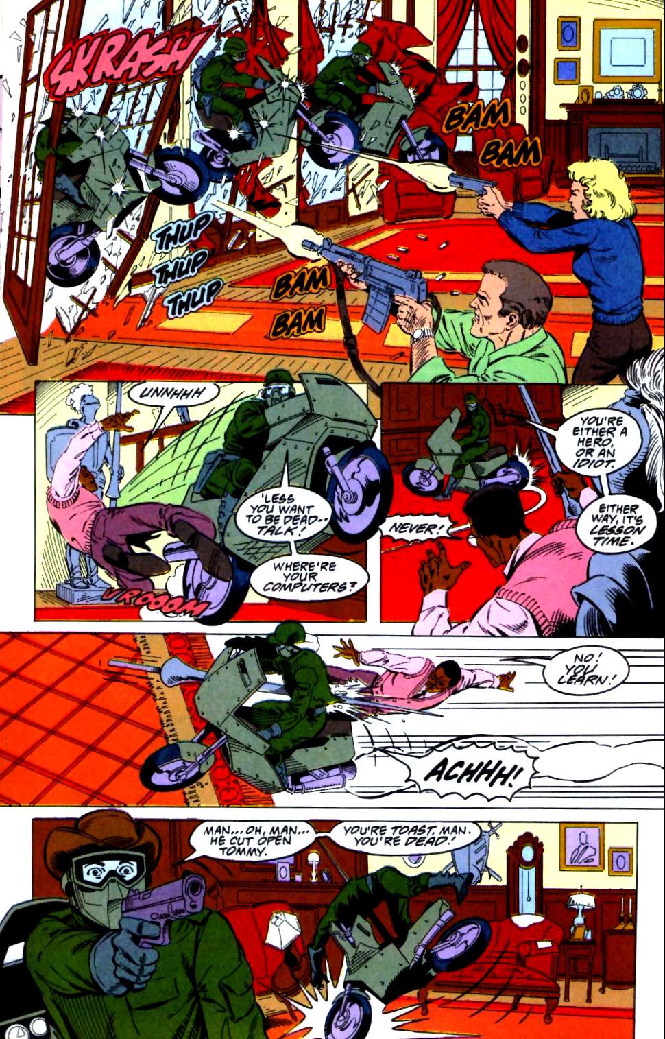 Deathstroke (1991) Issue #27 #32 - English 13