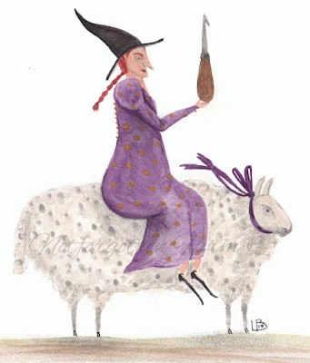 I am a Wool Witch!