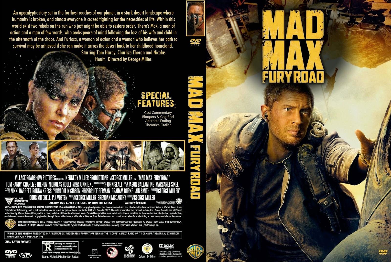 Baixar Mad Max Estrada da Fúria WEB-DL 720p Dual Áudio Mad 2BMax 2B  2BFury 2BRoad