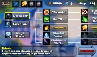 Imagen del juego Defender en Android