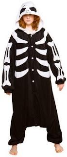 Adult Skeleton Jumpsuit