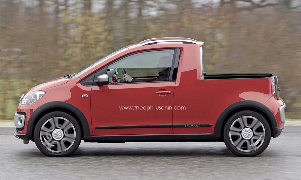 volkswagen pick up renderings garage car. Black Bedroom Furniture Sets. Home Design Ideas