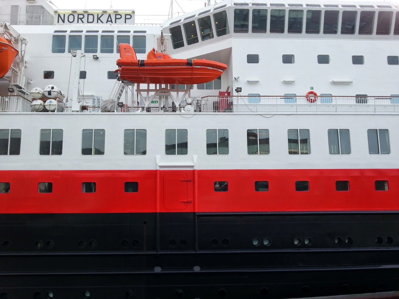 Hurtigruten MS Nordkapp in Bergen, Norway