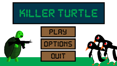 Killer Turtle Game Menu