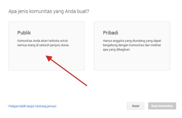 Tutorial Buat Group di Social Media Google Plus