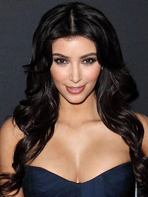 kim kardashian hairstyles for long hair. kim kardashian haircut how to.