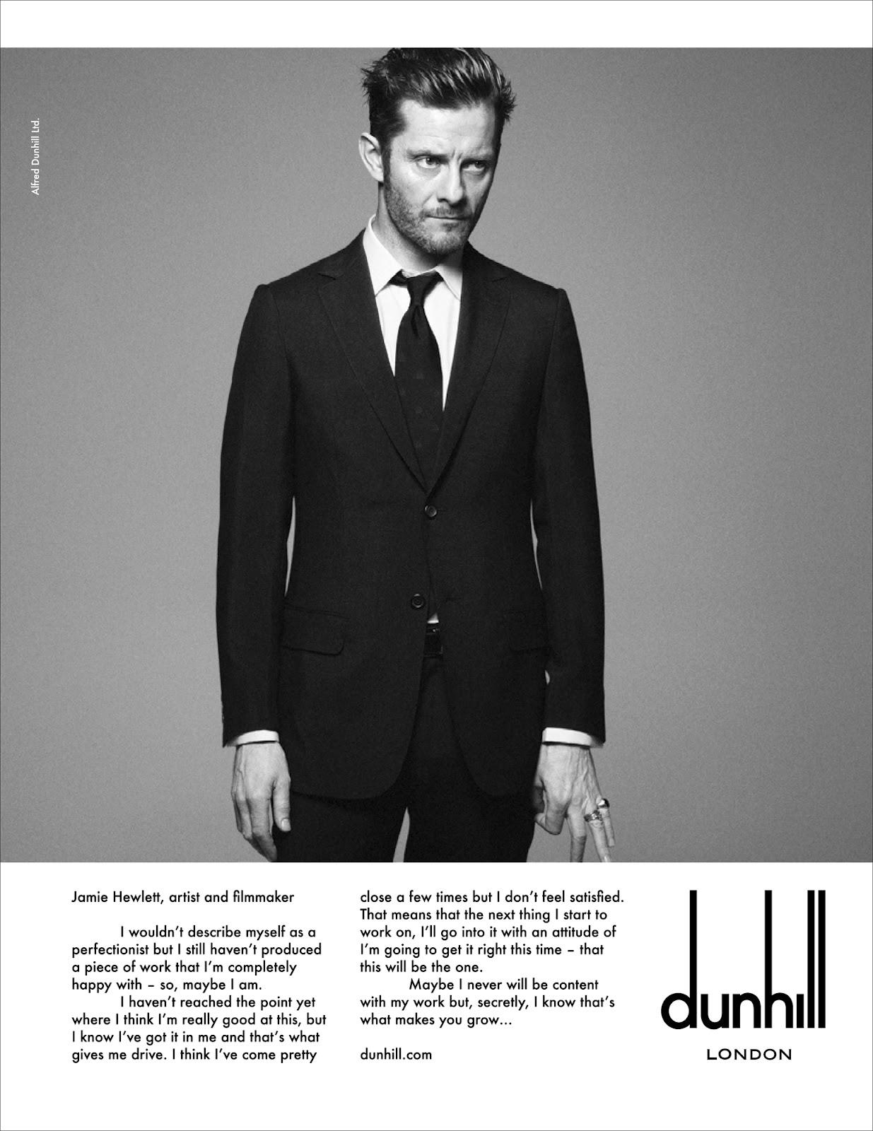 00O00 London Menswear Blog Alfred Dunhill Autumn/Winter 2012 Voice Campaign featuring John Hurt, David Adjaye, James Marsh and Jamie Hewlett