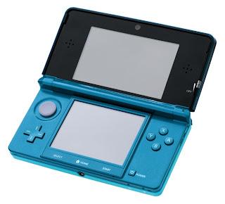 Nintendo 3DS Aqua