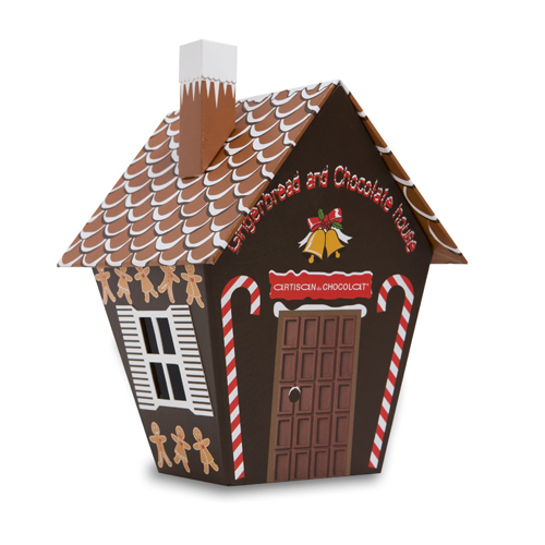 chocolate house gingerbread
