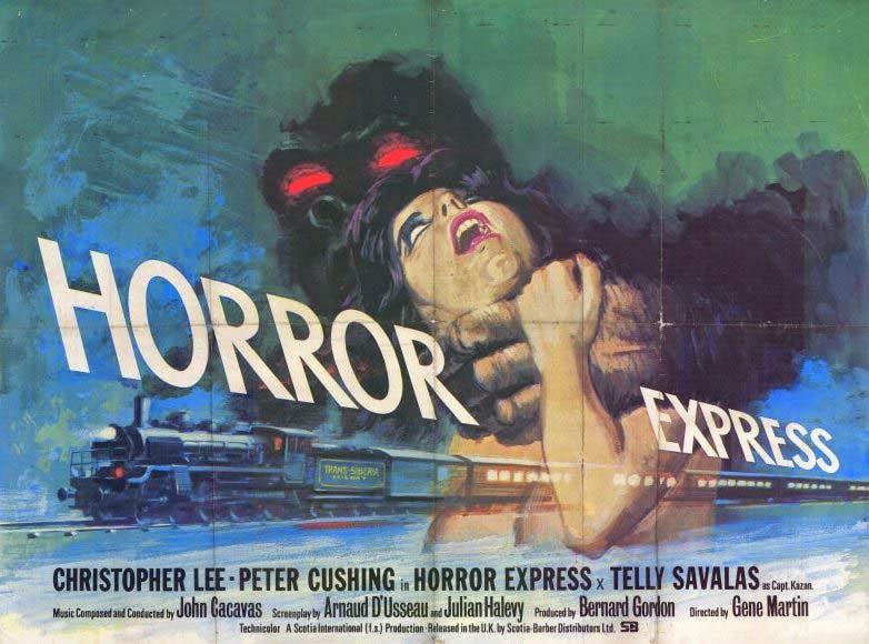 Pánico en el Transiberiano (Horror Express) - 1972 - Película sub español