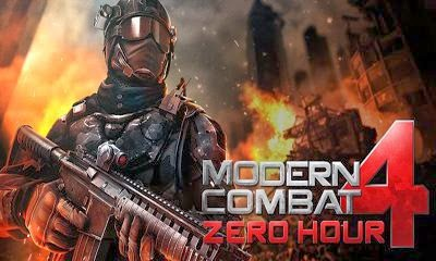 Modern Combat 4: Zero Hour Apk+Data Android | Free Full Download