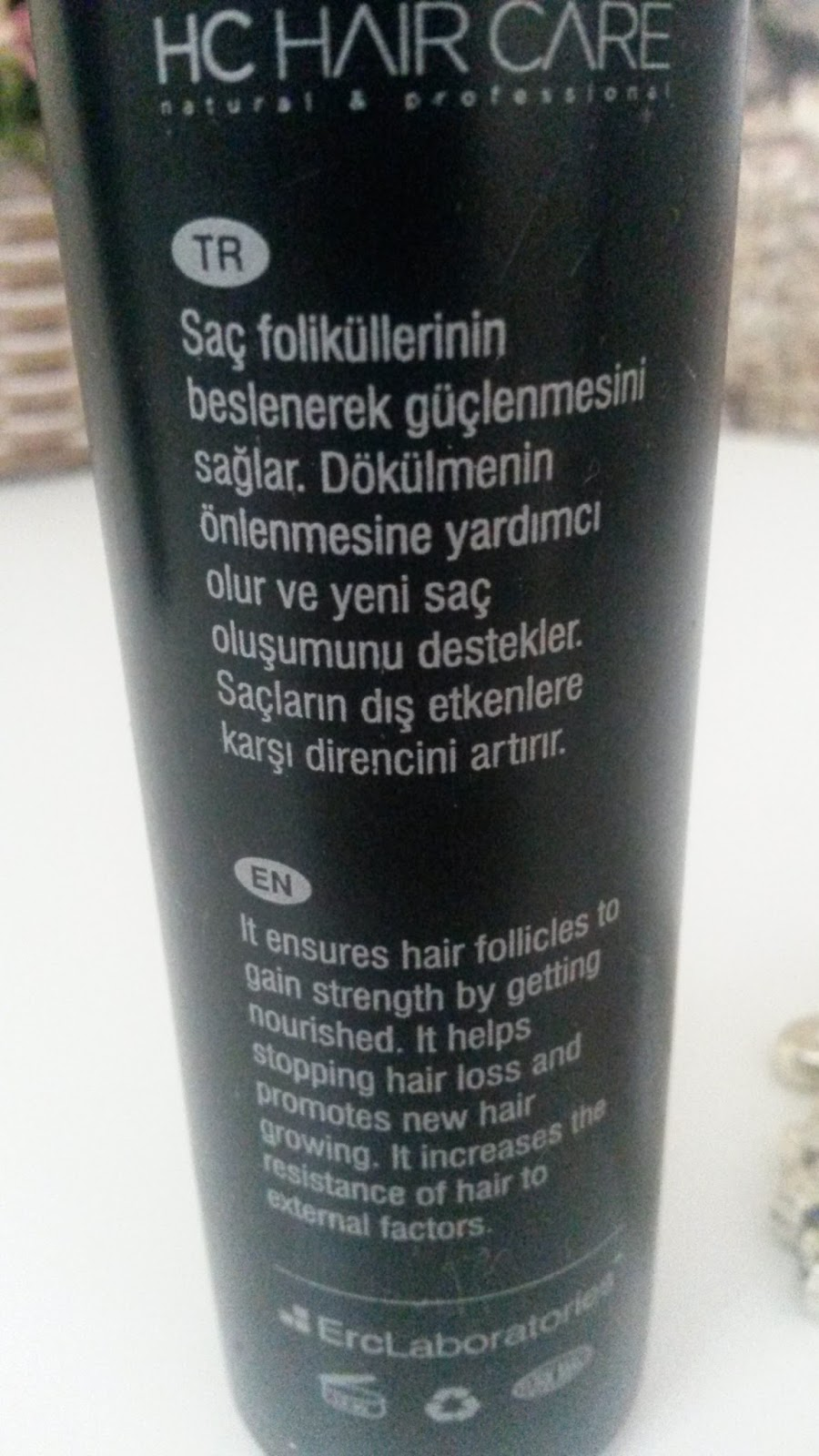 HC HAIR CARE DOPİNG