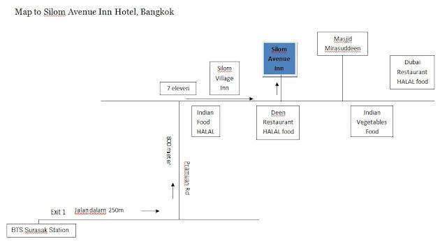 kedai makanan HALAL di Bangkok, Halal restaurant in Bangkok City