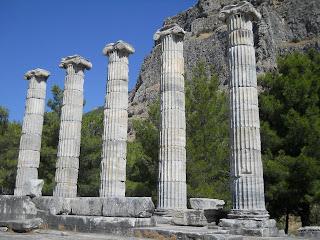 Priene - Templul Atenei