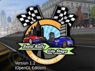 SnowRally CityStage 3D