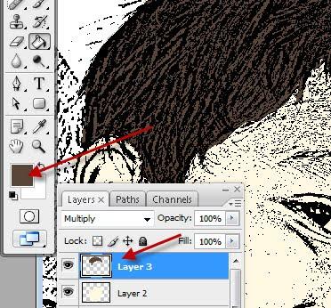 wallpaper kartun10. sekarang warnai rambut nya