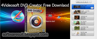 4VideoSoft DVD Creator Registration Code Generator Crack Free Download