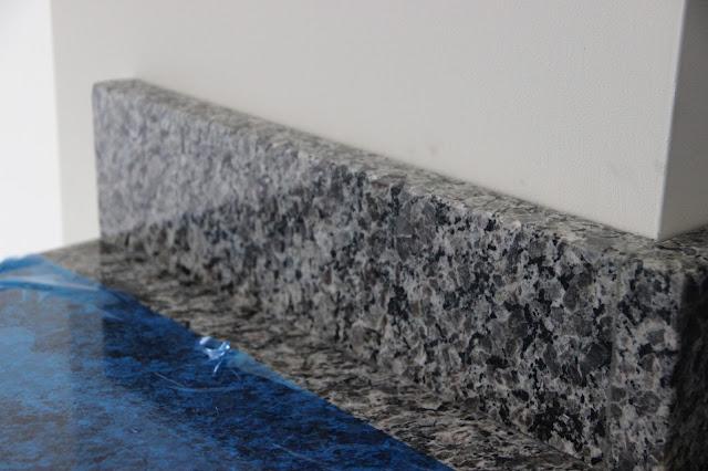 Ryan Homes installation of New Caledonia granite