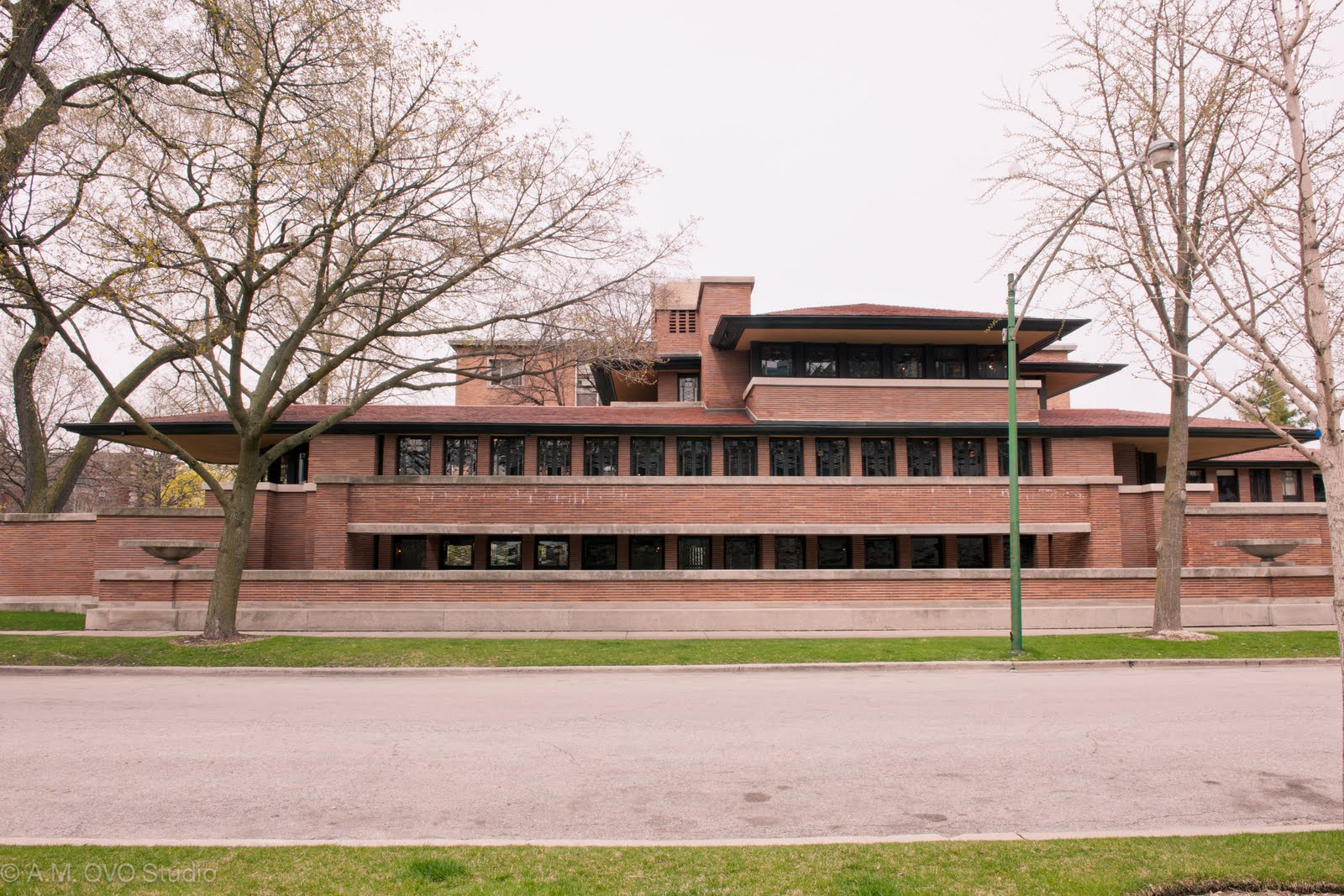 The spotting eye cityscapes hyde park f c robie house for Fredrick house