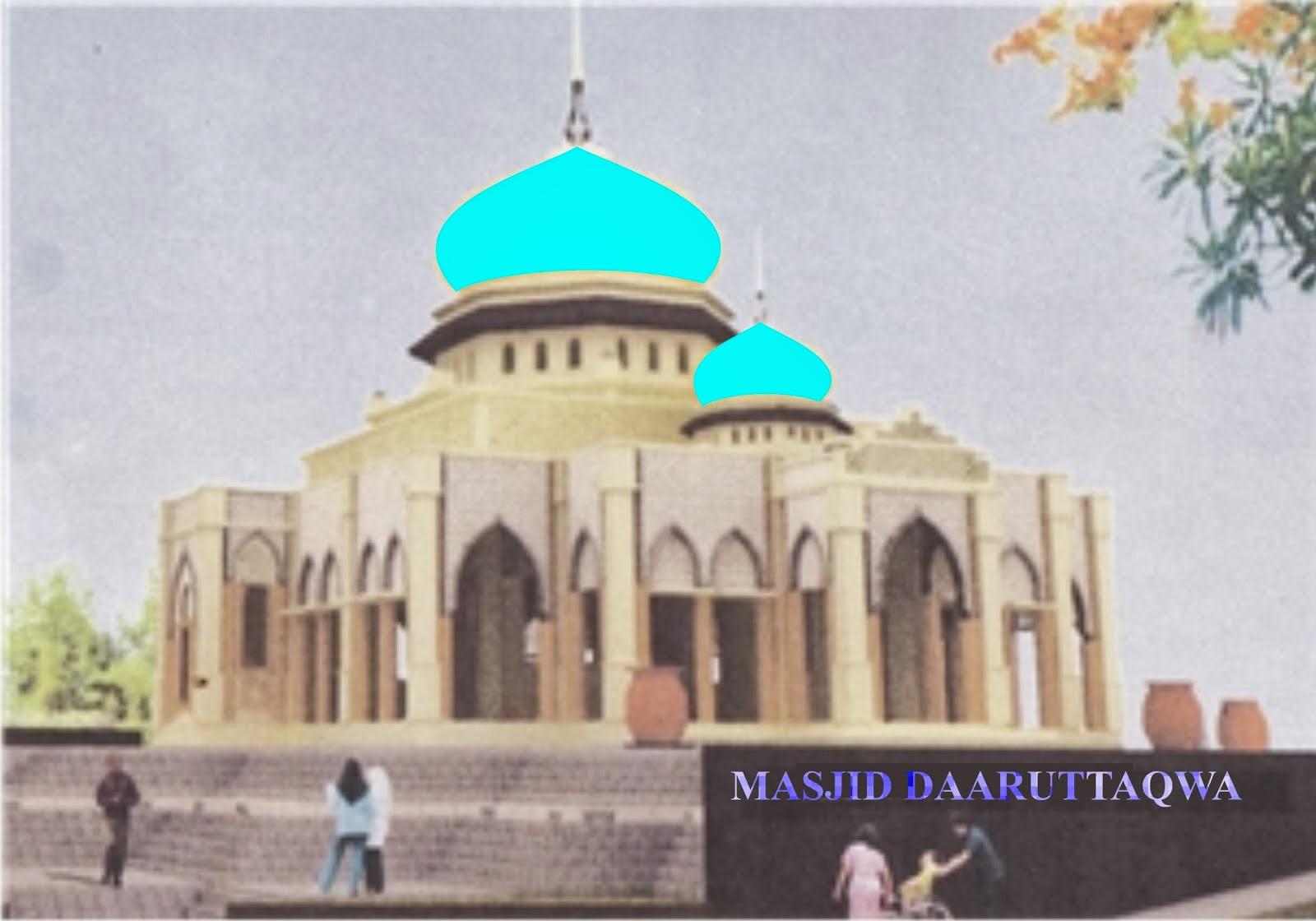 Sketsa Masjid