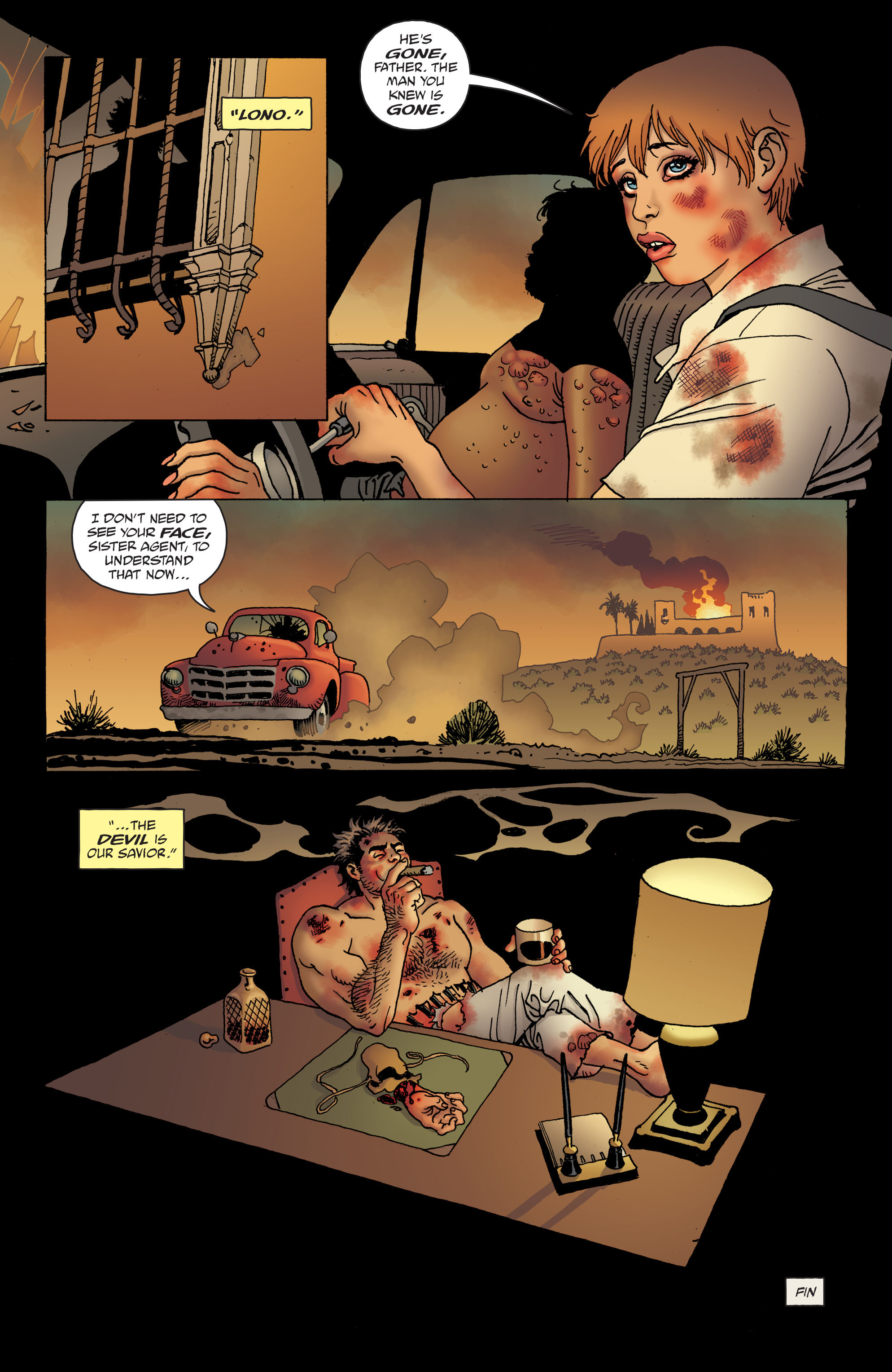 100 Bullets: Brother Lono Full Page 187