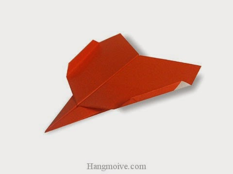 Cách gấp, xếp B-2 Spirit bằng giấy origami - Video hướng dẫn xếp hình máy bay - How to fold a paper airplane 9