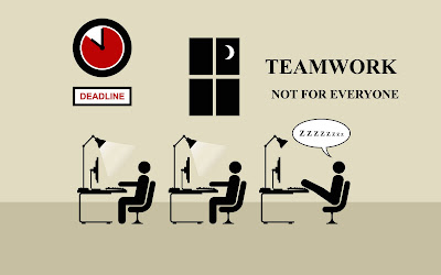 team work is not for kevin