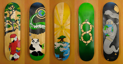 Painted%2BOSF%2BBamboo%2BSK8Boards%2B1 Oasis Skateboard Factory