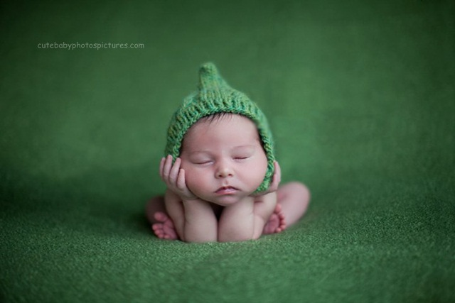 Cute New Born Baby Pictures