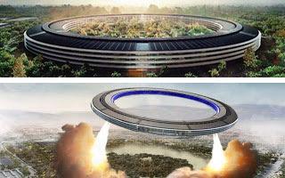 Το διαστημόπλοιο της Apple