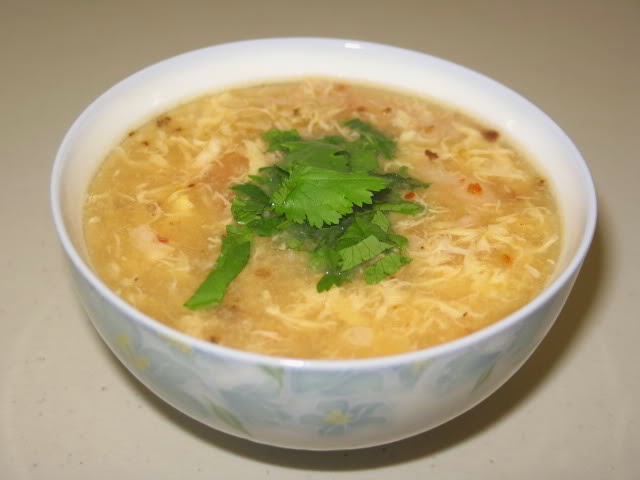 (Súp Cua Tôm) - Shrimp and Crab Meat Soup