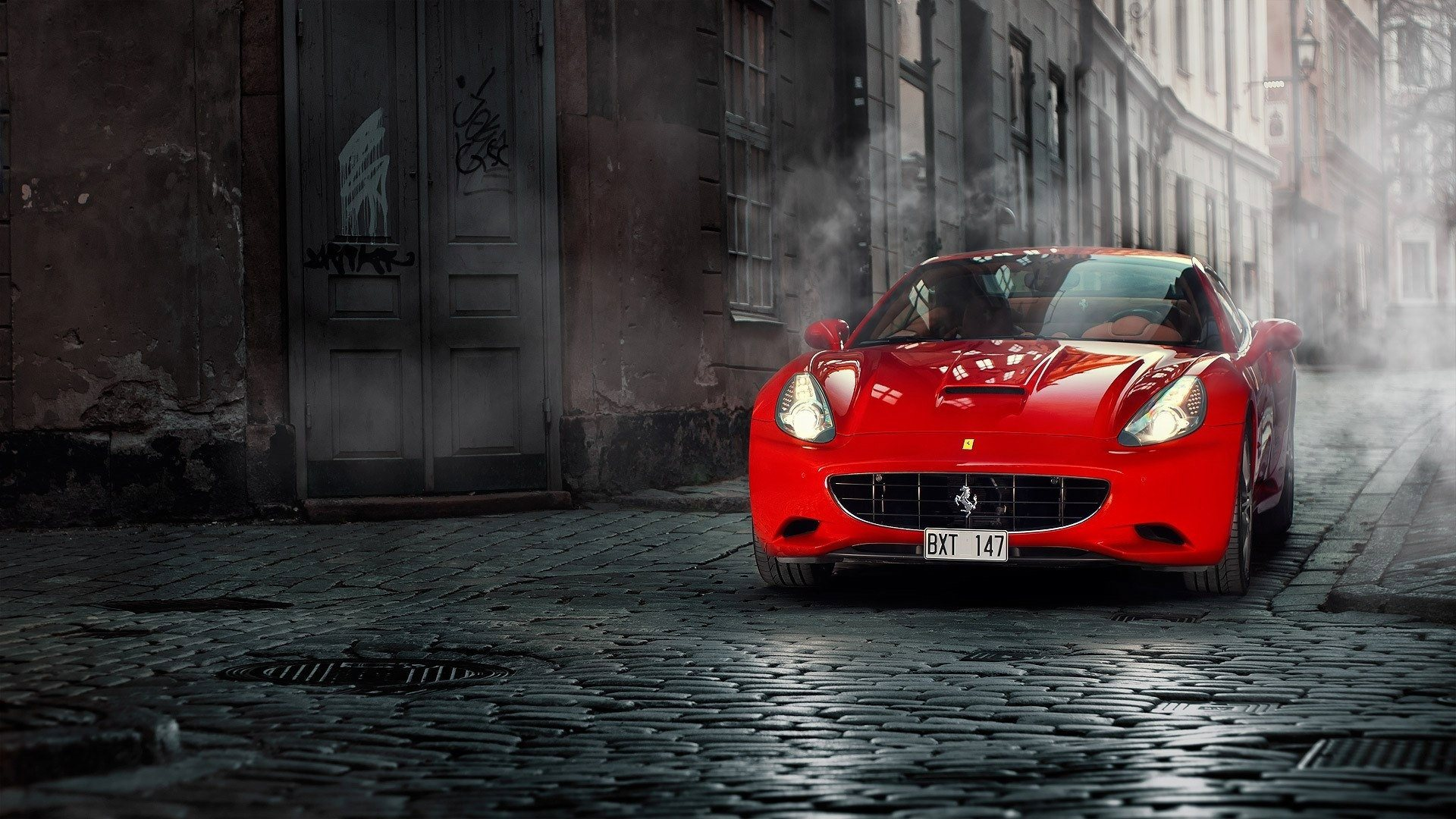 red ferrari wallpaper hd - photo #34