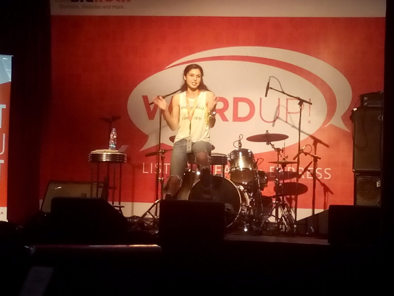 Sherry Shroff, BigRock, IndiBlogger, WordUp