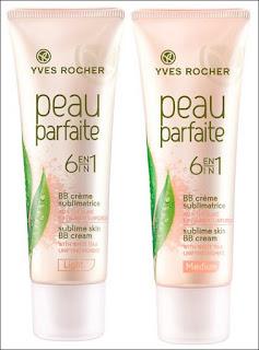 Yves Rocher, Peau Parfaite 6 in 1 BB Creme (Krem BB 6 w 1 `Idealna cera`) + przypominajka.
