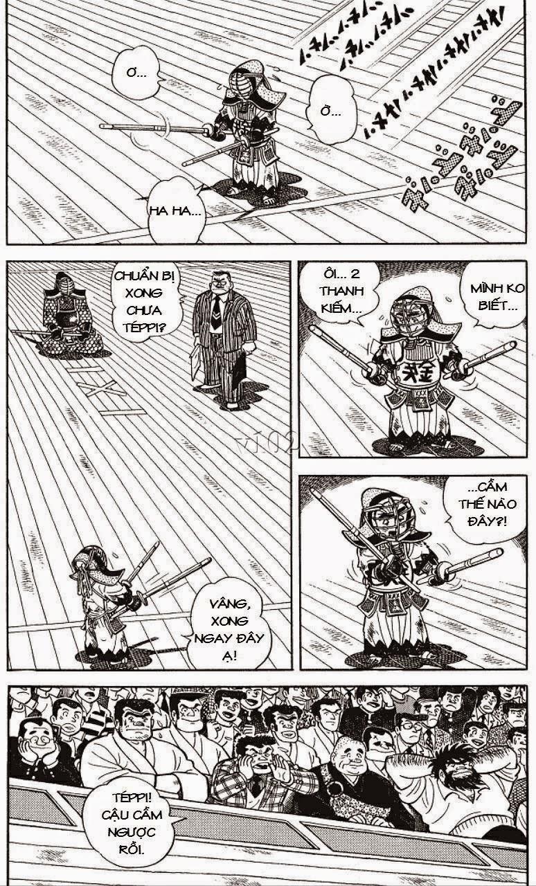 Siêu quậy Teppi chap 129 - Trang 8