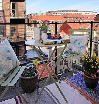 diseño de balcón